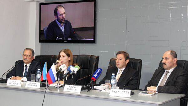 телемост, парламентские выборы - Sputnik Азербайджан