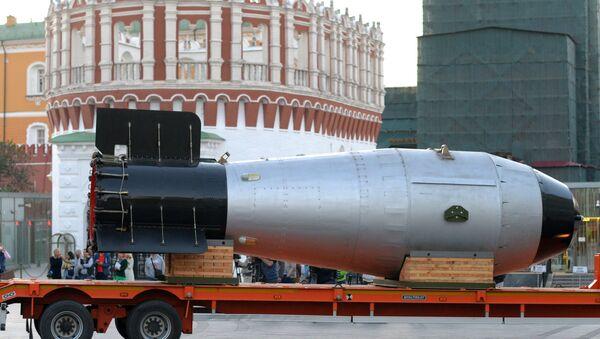 Копия термоядерной Царь-бомбы доставлена в Москву - Sputnik Азербайджан