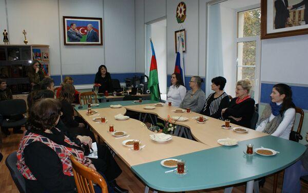 Вечер памяти Муслима Магомаева в Центре азербайджанского языка и культуры при Московском государственном лингвистическом университете - Sputnik Азербайджан