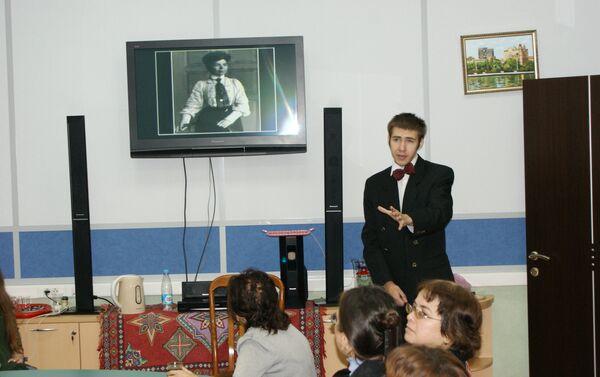 Вечер памяти Муслима Магомаева в Московском государственном лингвистическом университете - Sputnik Азербайджан