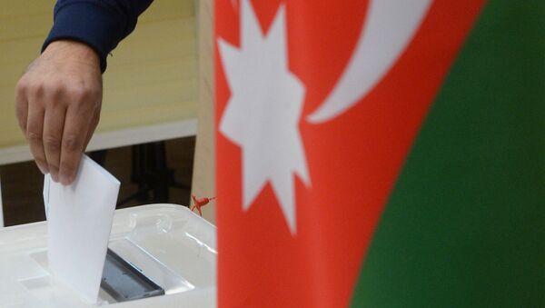 выборы в Азербайджане - Sputnik Азербайджан