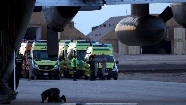 Крушение российского лайнера в Египте. - Sputnik Азербайджан