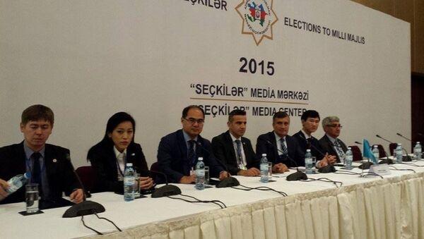Миссия Тюркского совета не зафиксировала нарушений на выборах в АР. - Sputnik Азербайджан