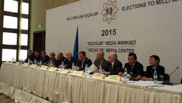 Миссия СНГ положительно оценила выборы в Азербайджане. - Sputnik Азербайджан