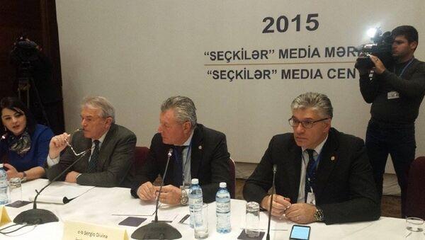 Парламент Италии: выборы в АР были близки к идеалу - Sputnik Азербайджан