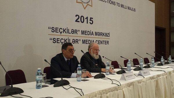 ЦИК РФ о выборах в АР: это феноменально - Sputnik Азербайджан