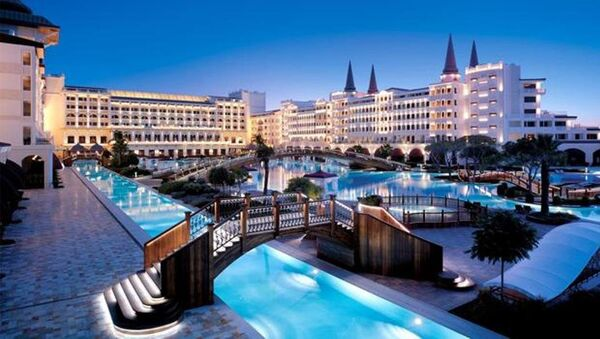 Семизвездочный отель Mardan Palace в Анталье - Sputnik Азербайджан