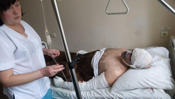 Пострадавшие от взрыва - Sputnik Азербайджан