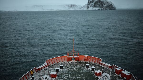 Экспедиция на Северный полюс - Sputnik Азербайджан