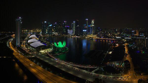 Города мира. Сингапур - Sputnik Azərbaycan