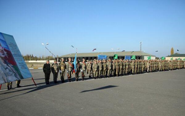 Мероприятие в честь Дня Государственного флага - Sputnik Азербайджан