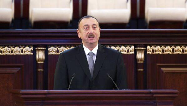 Президент Ильхам Алиев выступил на мероприятии, посвященном 70-летнему юбилею Национальной академии наук АР - Sputnik Azərbaycan