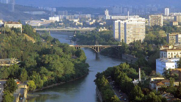 Панорама города Тбилиси. - Sputnik Азербайджан