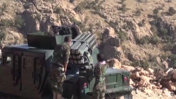 Курды заняли позиции в освобожденном Синджаре и стреляли по боевикам ИГ - Sputnik Азербайджан