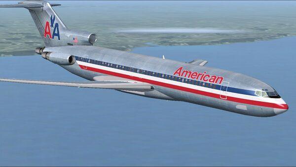 American Airlines şirkətinin təyyarəsi - Sputnik Azərbaycan