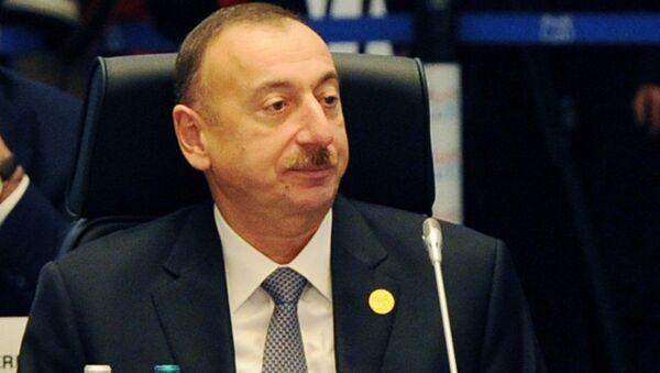 Azərbaycan prezidenti İlham Əliyev G20-nin Antalya sammitində - Sputnik Azərbaycan