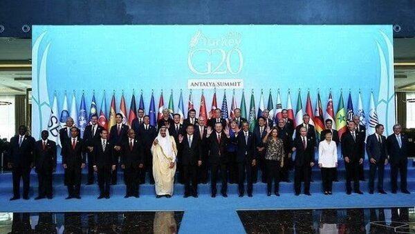 саммит G20 в Анталье - Sputnik Азербайджан
