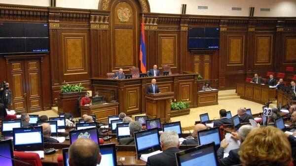 Ermənistan parlamenti - Sputnik Azərbaycan