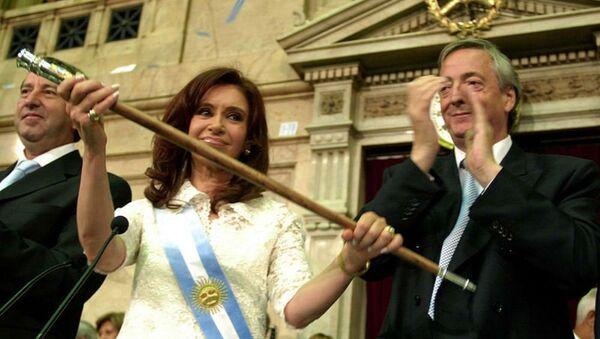 Kristina və Nestor Kirçnerlər - Argentina - Sputnik Azərbaycan