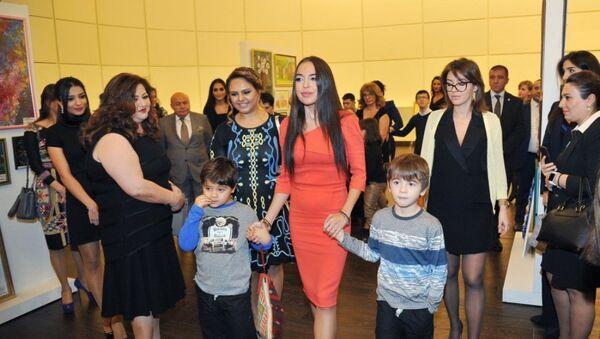 Выставка Сердца, полные грез с участием вице-президента Фонда Гейдара Алиева Лейлы Алиевой - Sputnik Азербайджан