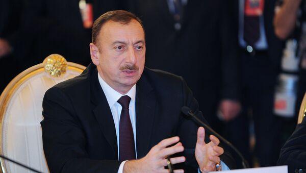 Ильхам Алиев - Sputnik Azərbaycan