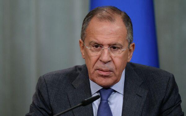 Russian Foreign Minister Sergei Lavrov - Sputnik Azərbaycan