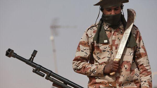 Ливийский город Рас-Лануф захвачен силами опозиции - Sputnik Азербайджан