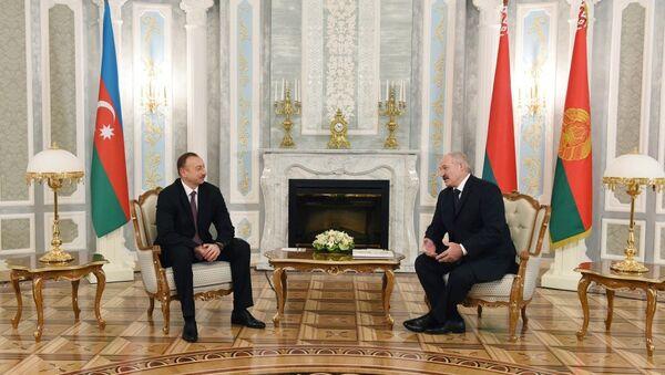 Встреча президентов Азербайджана и Белоруси в Минске - Sputnik Азербайджан