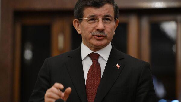 Экс-премьер Турции Ахмет Давутоглу - Sputnik Азербайджан