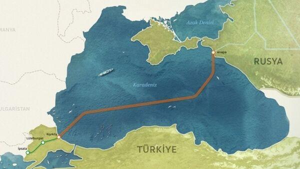 Türk axını layihəsi - Sputnik Azərbaycan