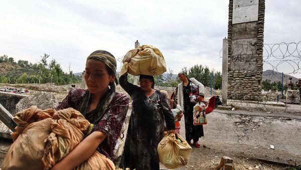 Ситуация в городе Ош - Sputnik Azərbaycan
