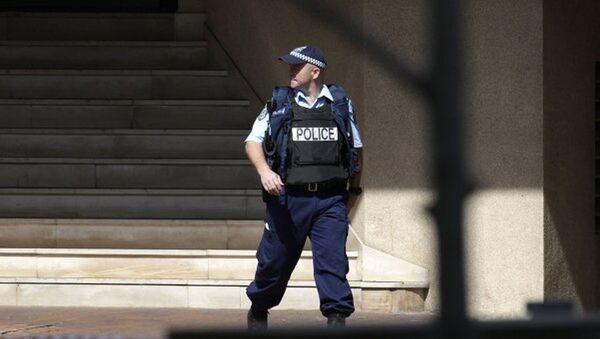 Австралийский полицейский - Sputnik Азербайджан
