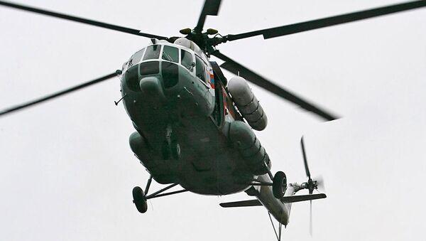 Tuva Cumhuriyeti'nde kaybolan helikopter - Sputnik Azərbaycan