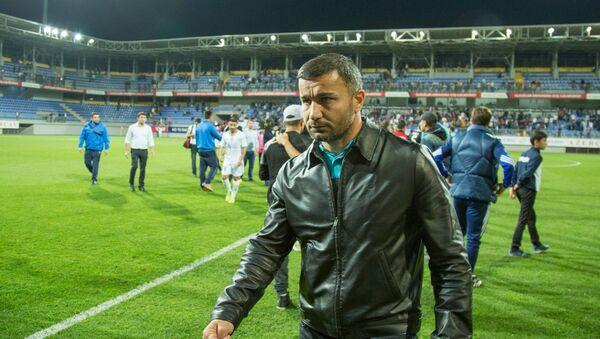 Qurban Qurbanov - Qarabağ futbol klubunun baş məşqçisi - Sputnik Azərbaycan