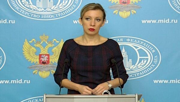 Захарова объяснила, какие статьи о Су-24 в турецких СМИ вызывают недоумение - Sputnik Азербайджан