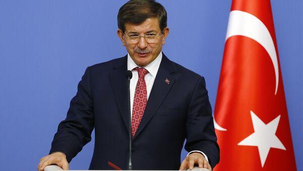 Əhməd Davudoğlu - Türkiyənin baş naziri - Sputnik Azərbaycan