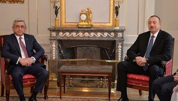 Ильхам Алиев и Серж Саргсян - Sputnik Азербайджан