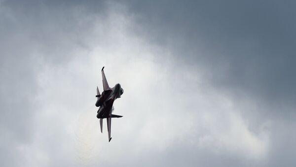 Самолет на авиашоу. Архивное фото - Sputnik Азербайджан