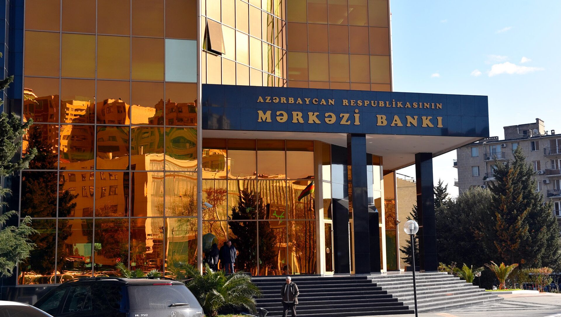 Главный офис Центрального Банка Азербайджана - Sputnik Азербайджан, 1920, 07.04.2021