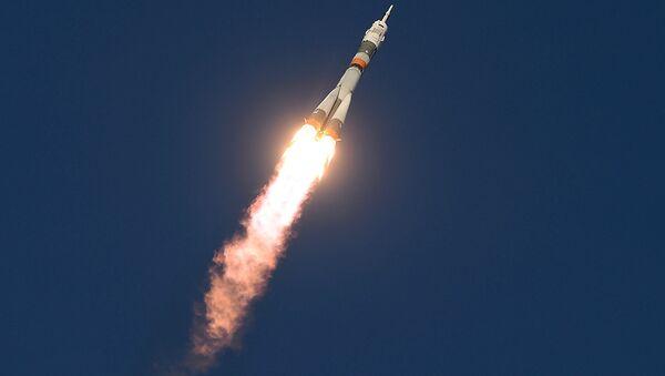 Старт космического корабля. Архивное фото - Sputnik Азербайджан