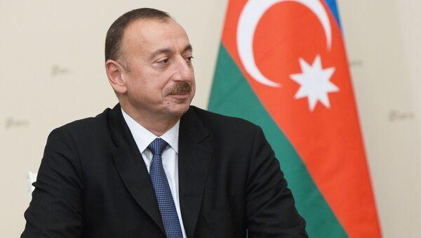 Президент Ильхам Алиев. Архивное фото - Sputnik Азербайджан