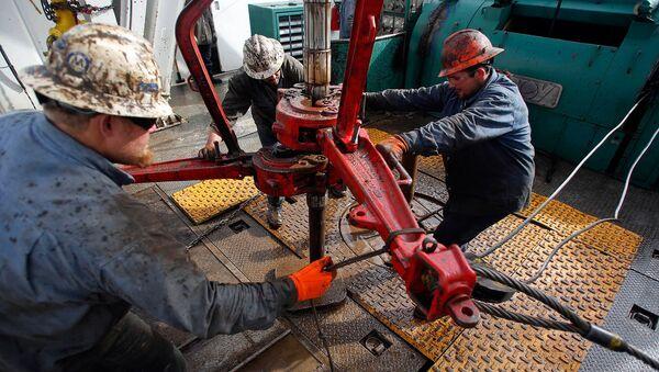 Добыча нефти в США - Sputnik Azərbaycan