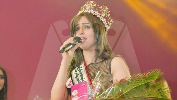 Мисс Ирака Шaйма Касем. Архивное фото - Sputnik Азербайджан