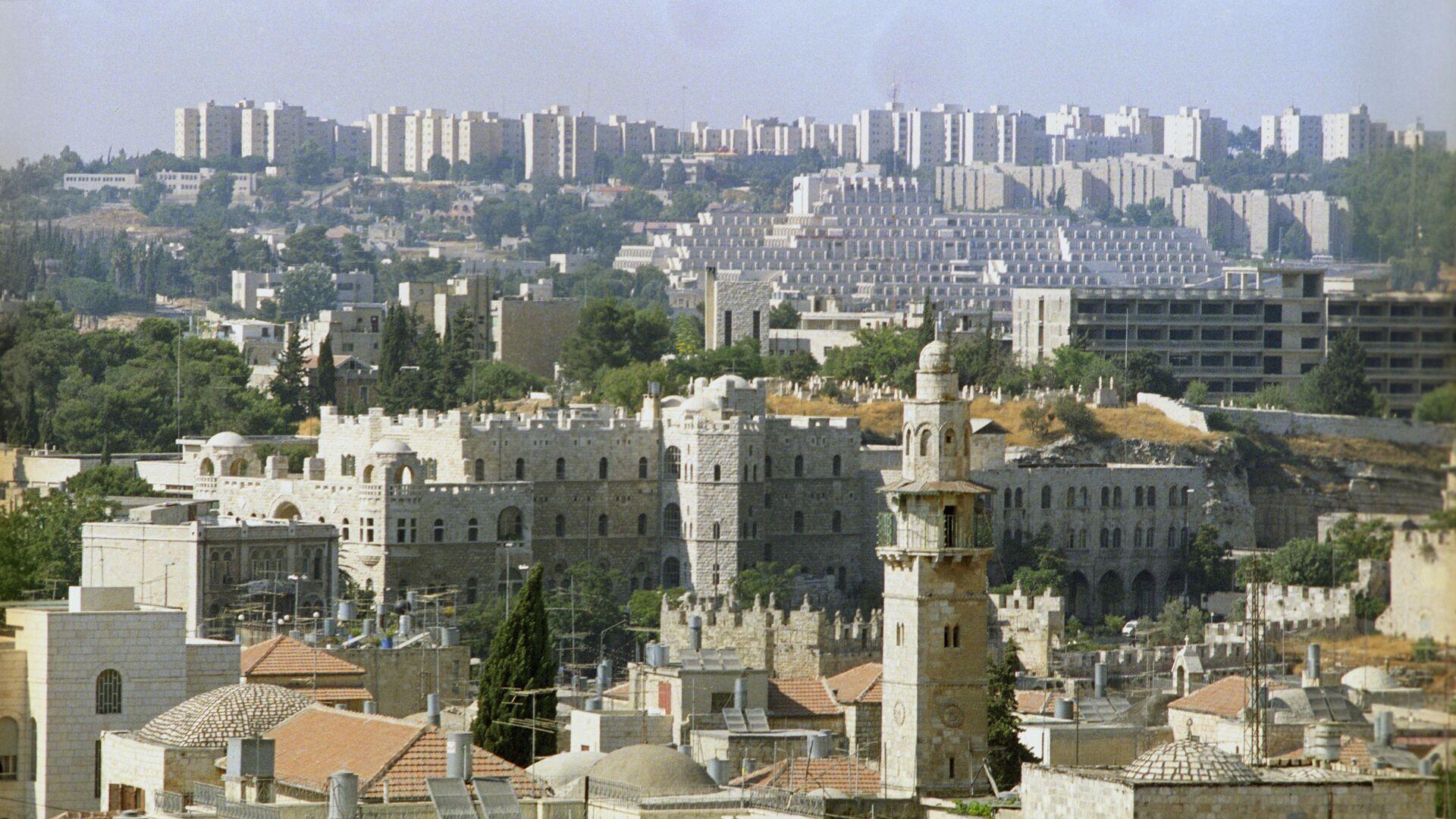 Панорама Иерусалима. Архивное фото - Sputnik Azərbaycan, 1920, 13.10.2021