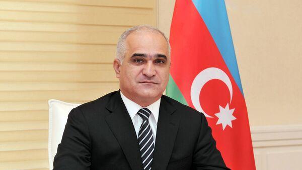Министр экономики и промышленности Шахин Мустафаев - Sputnik Azərbaycan