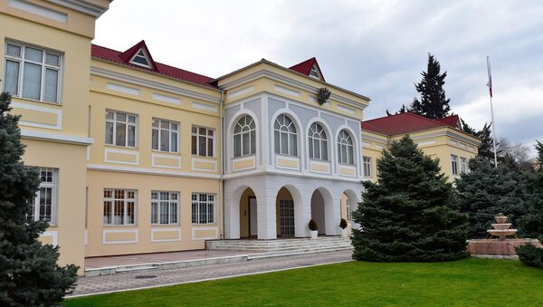 Здание российского посольства в Баку - Sputnik Азербайджан