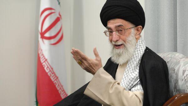 Духовный лидер Ирана аятолла Сейед Али Хаменеи - Sputnik Азербайджан
