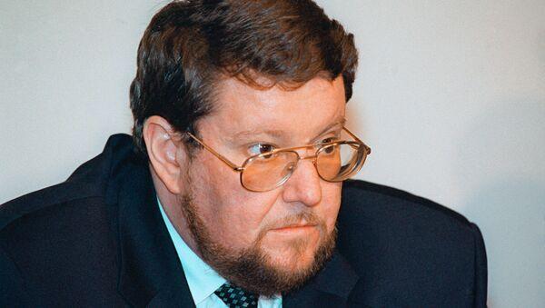 Евгений Сатановский. Архивное фото - Sputnik Азербайджан