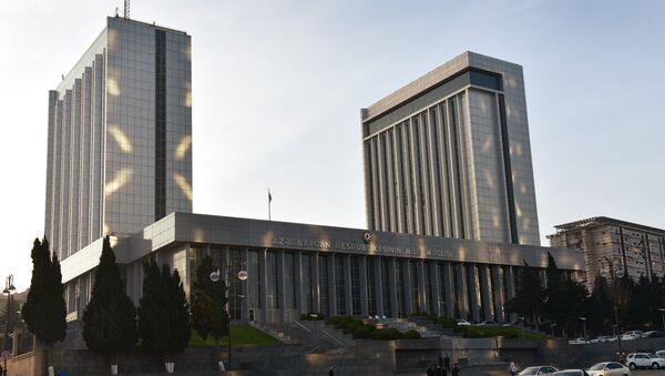 Милли Меджлис республики Азербайджан - Sputnik Азербайджан