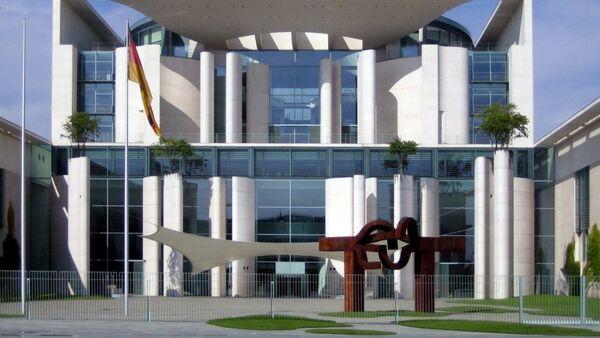 Здание федеральной канцелярии ФРГ - Sputnik Азербайджан